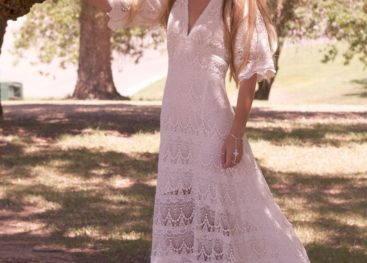 Ажурные платья в стиле бохо