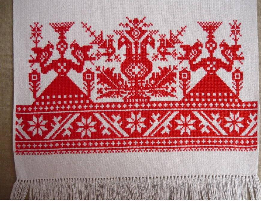 Славянские вышивки на рубашках