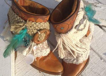 Обувь в стиле бохо