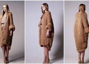 Пальто в стиле бохо