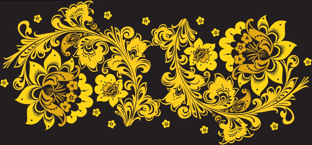 Золото росписи