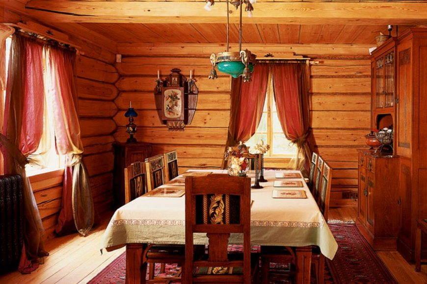 Квартира в русском стиле