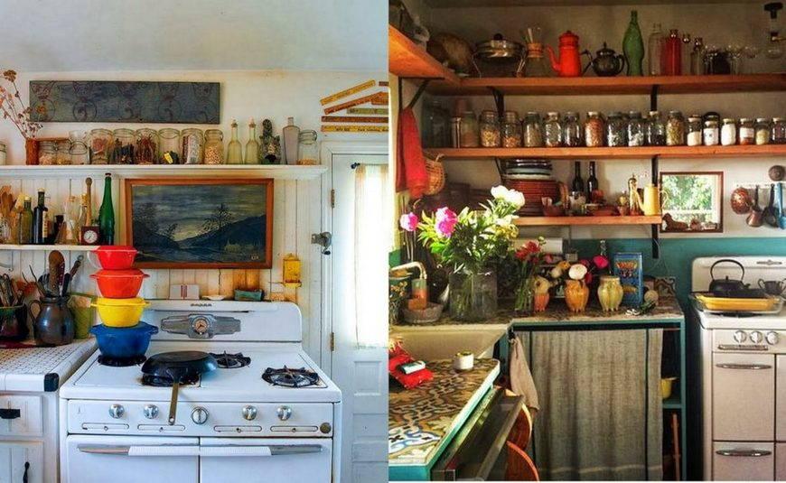 кухня бохо