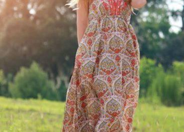 Платья в стиле бохо шик