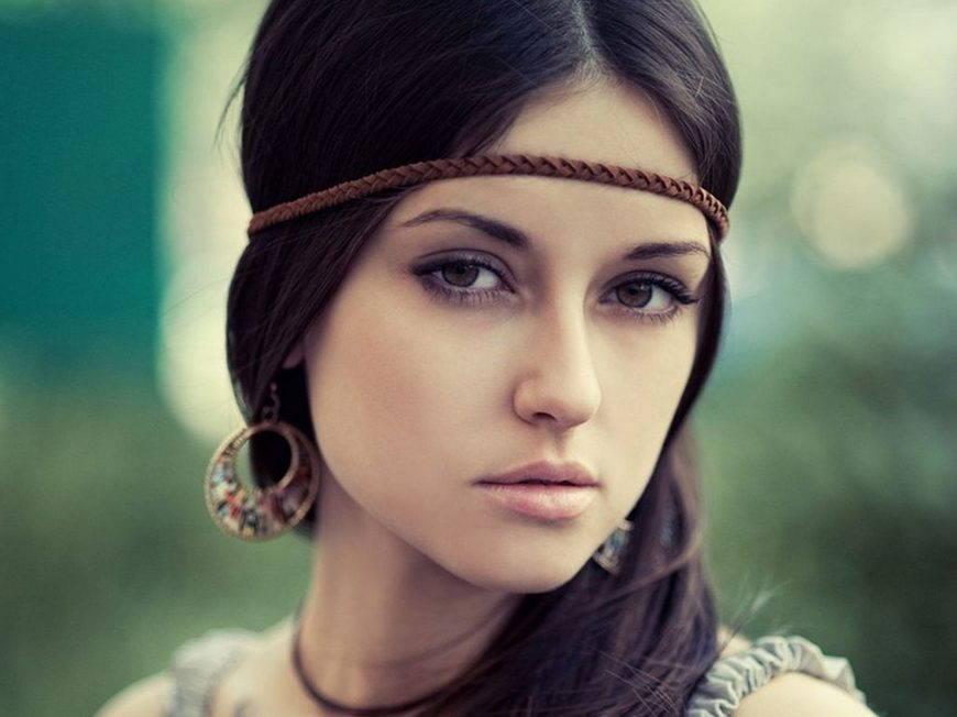 макияж в стиле бохо