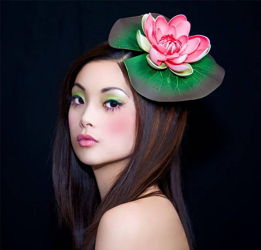 Румяна в японском макияже