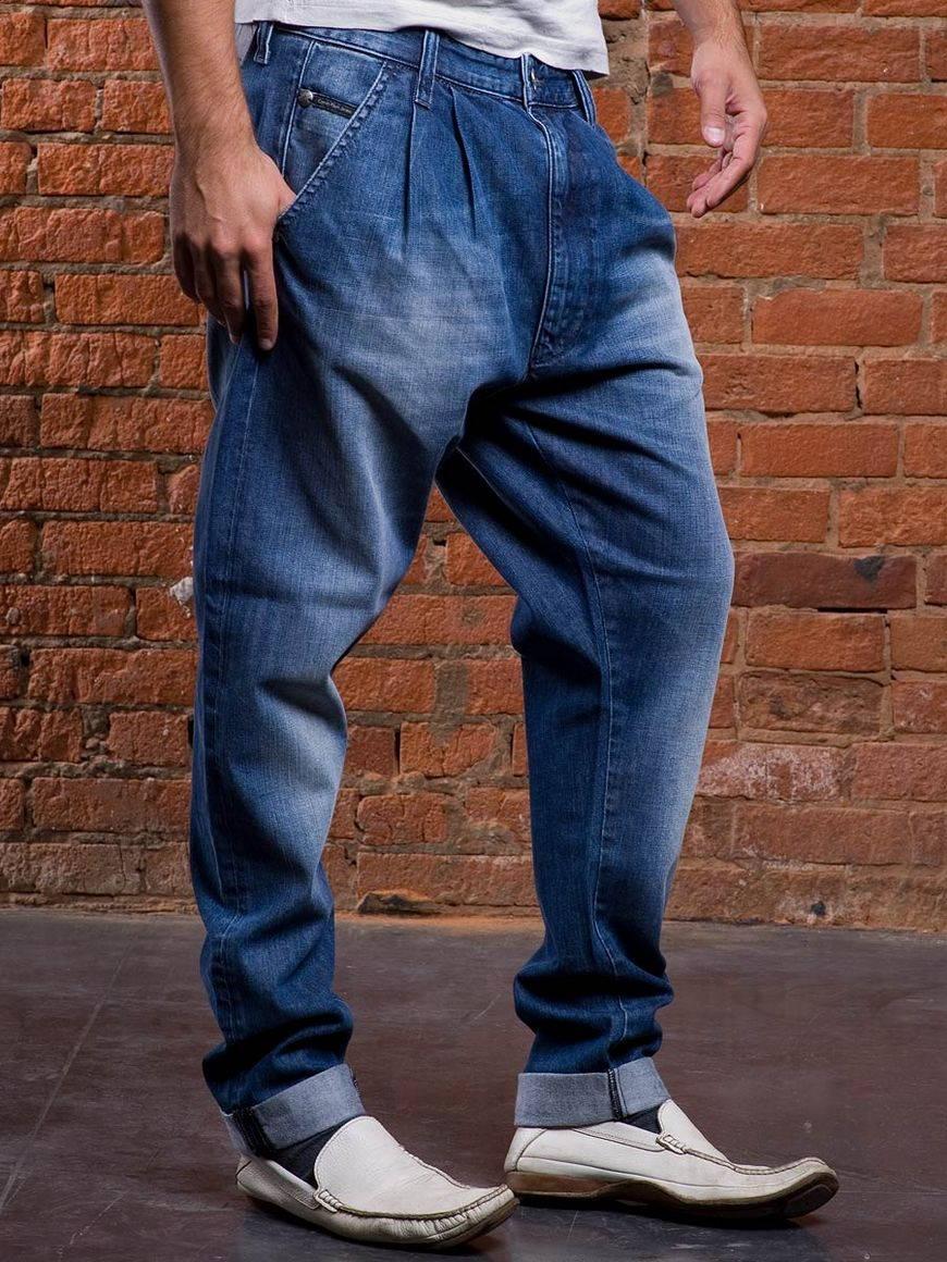 9d6e249d Мужские джинсы с висячей проймой. спортивные штаны с низкой ...