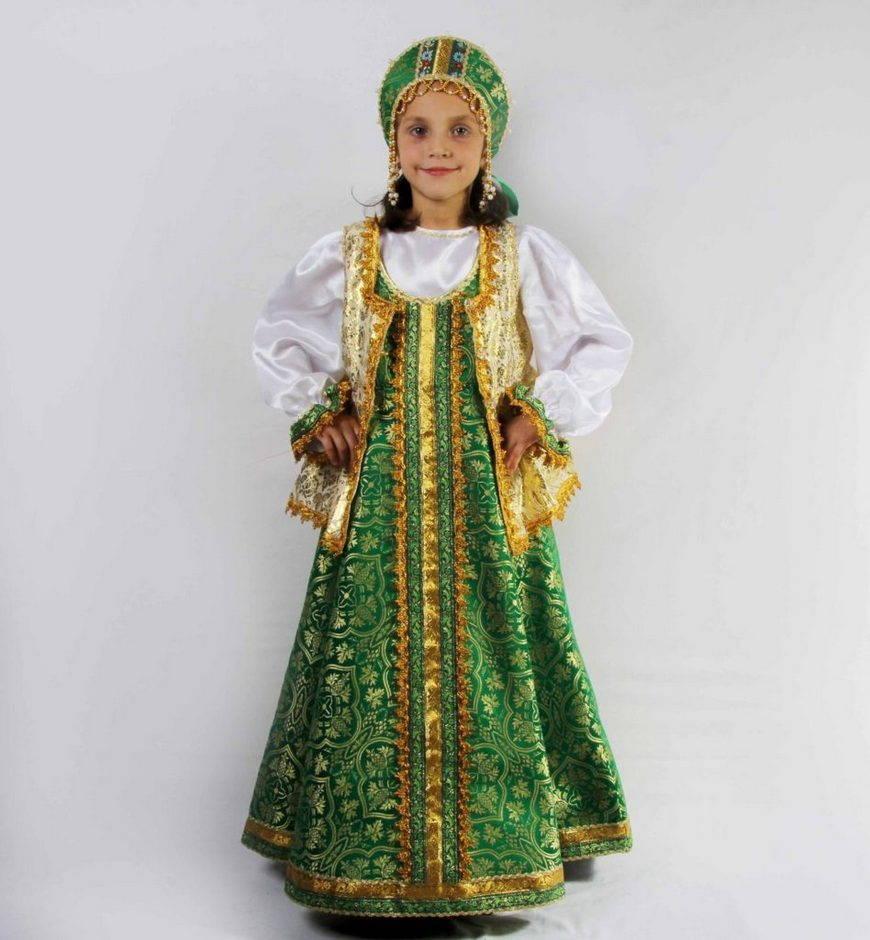 Шикарный русский сарафан