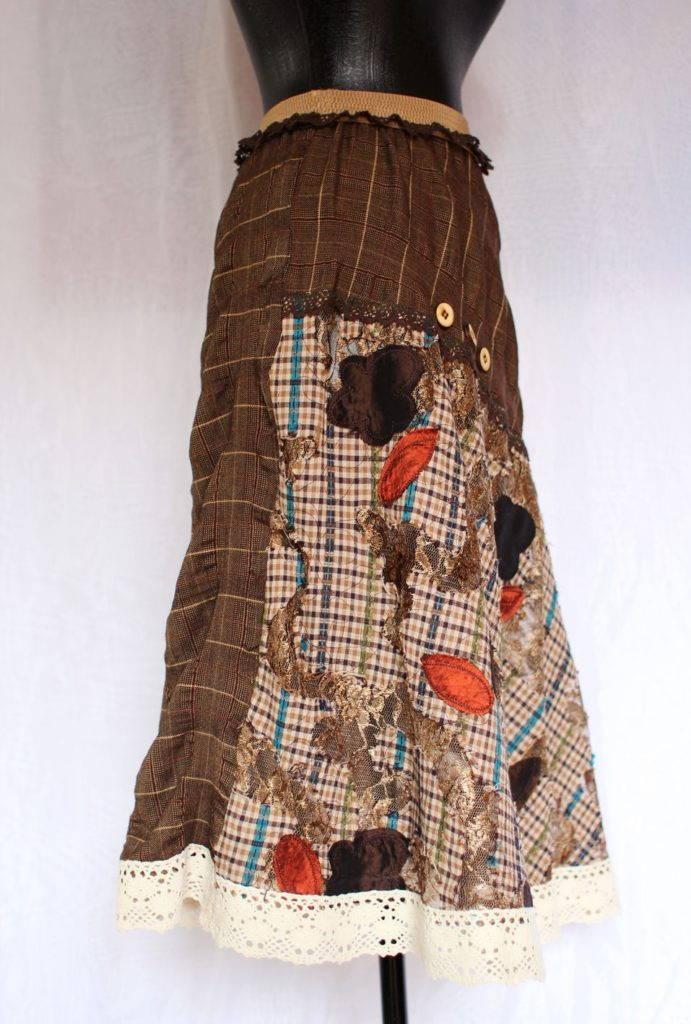 пышная юбка бохо- декор