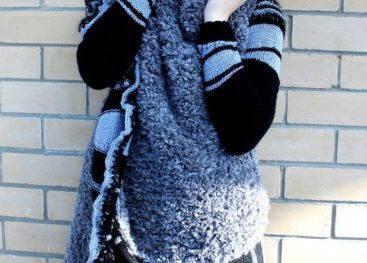 Вязаные пальто