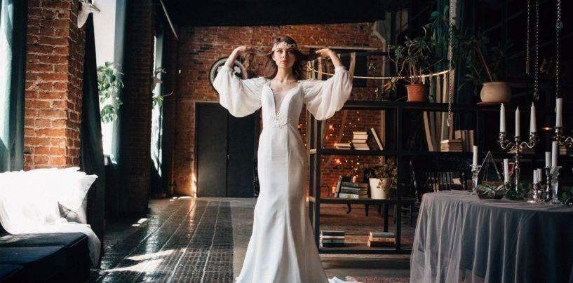 Выбираем идеальное свадебное платье в бохо стиле с восточными или славянскими нотками
