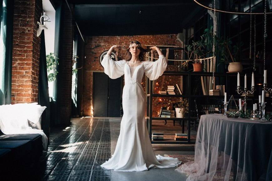 Свадебное платье в стиле бохо: восточные и славянские мотивы