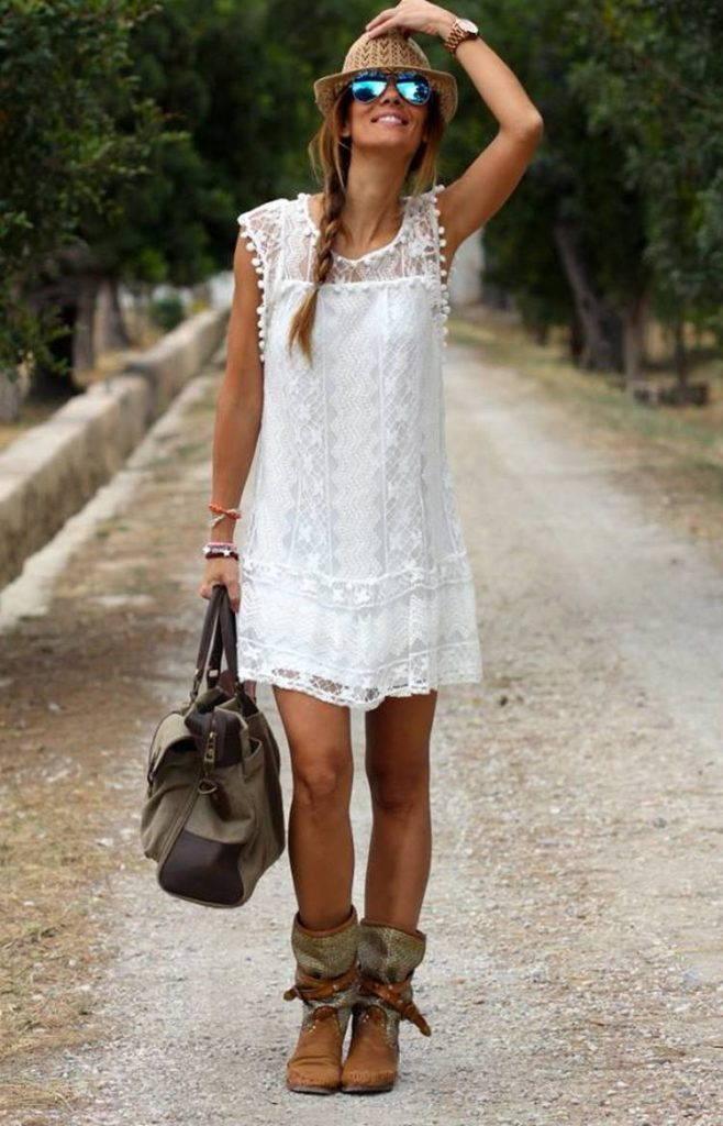 стиль бохо-платье-туника