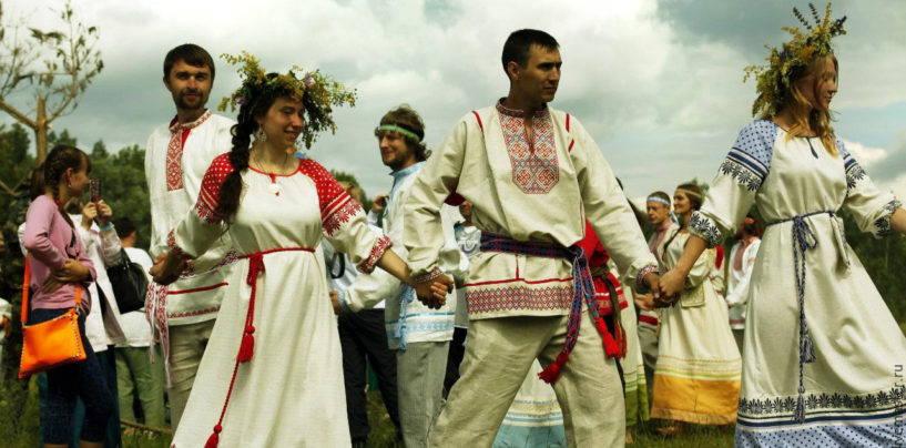 Символизм традиционной русской рубахи