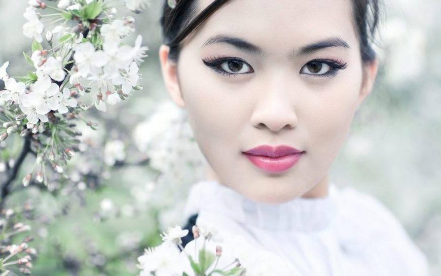 макияж в японском стиле