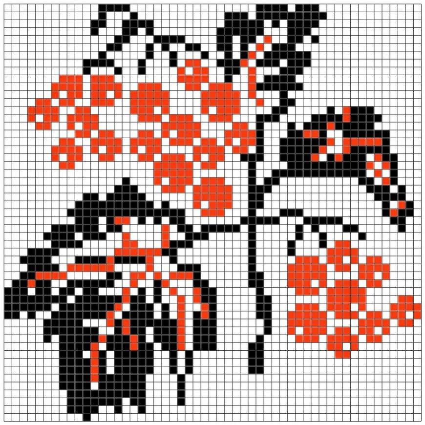славянская вышивка схема