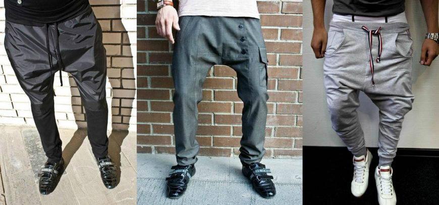 штаны с мотней
