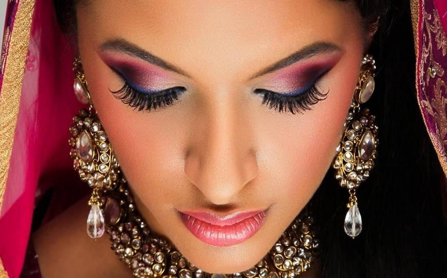 Фото макияж восточных девушек