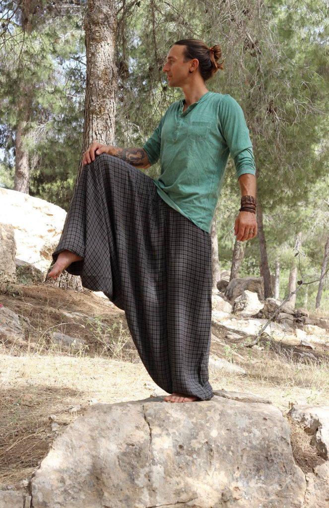 мужские штаны алладины