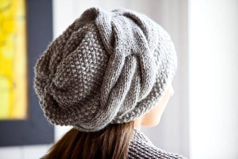 шапка в стиле бохо