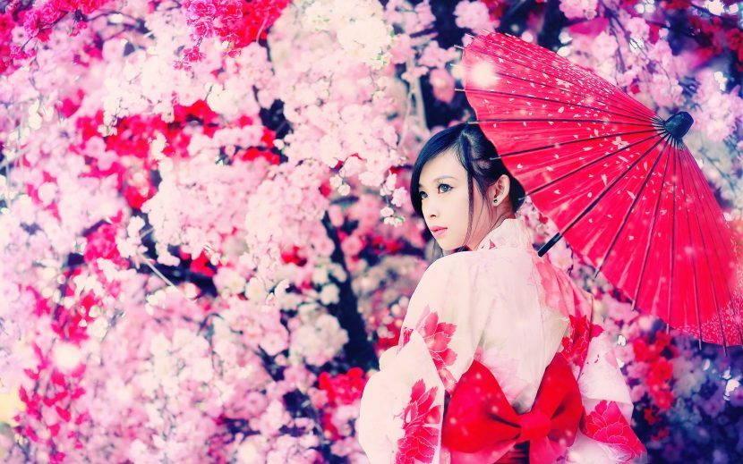 японская красота