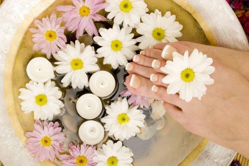 Ванночка с цветами