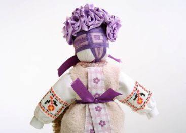 Лицо куклы мотанки