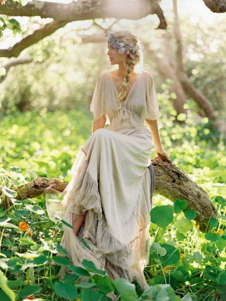 Шикарное платье в стиле бохо шик