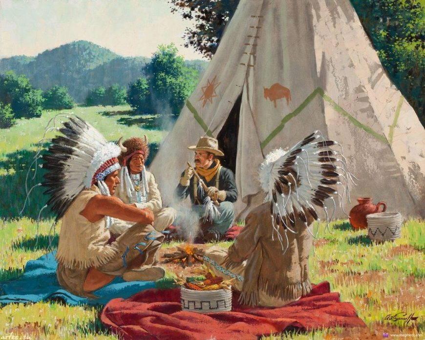 Самобытность индейцев