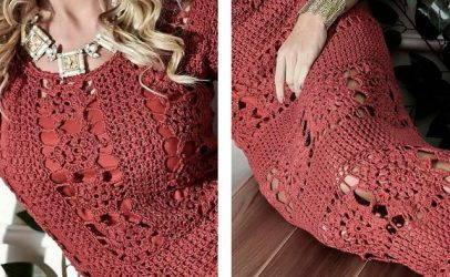 Нетривиальные платья и удобные туники в стиле бохо шик