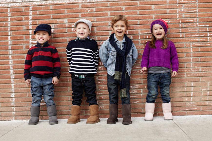 Детские угги