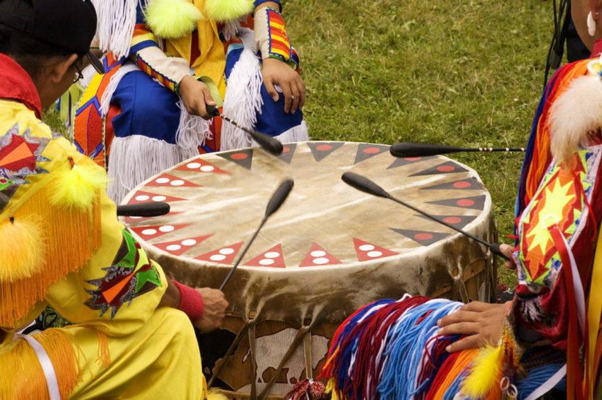 Барабан индейцев