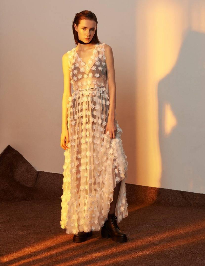 платье в стиле богемного шика
