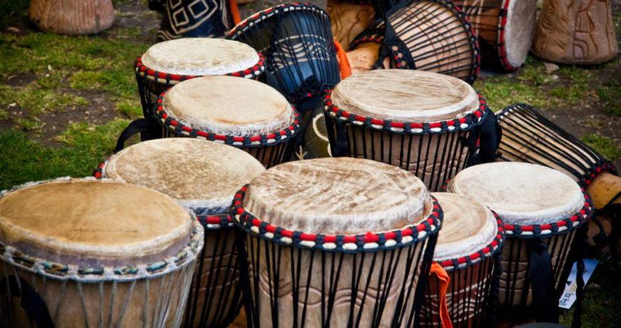 Индейские барабаны