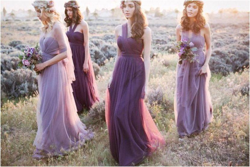 Свадебные платья в бохо стиле