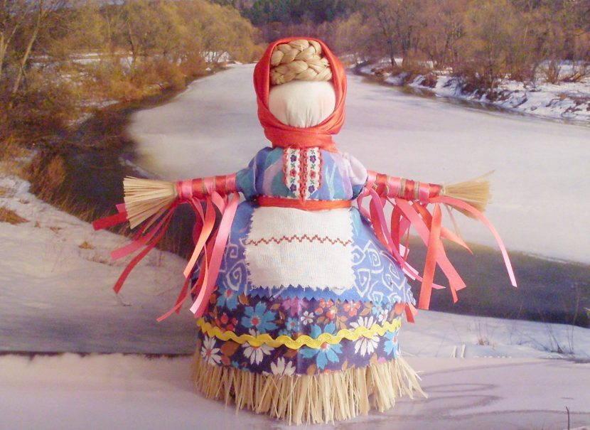 Кукла мотанка Масленица
