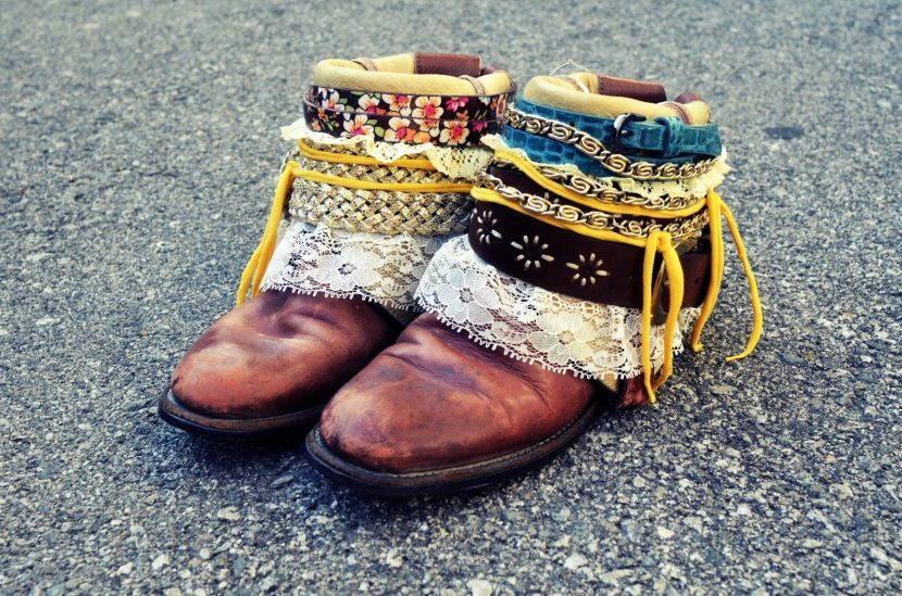 Ботинки бохо
