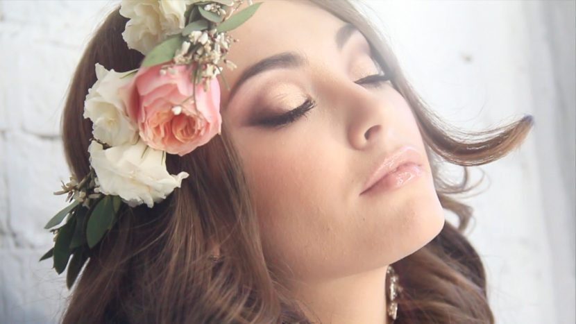 Свадебный макияж в стиле бохо