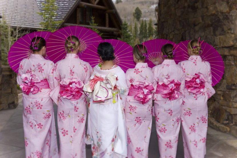 Свадебные кимоно
