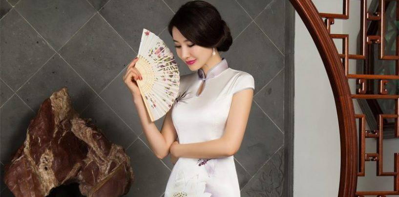 Изысканные платья в китайском стиле для истинных модниц