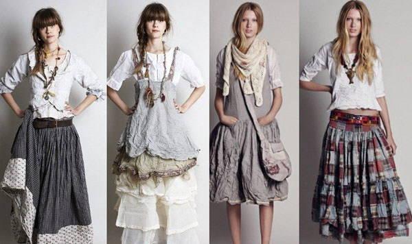 Бохо стиль своими руками: выкройка и пошив одежды
