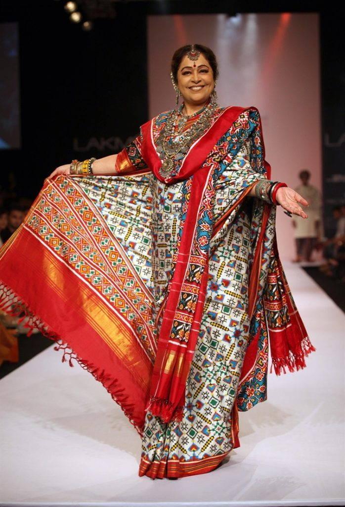 платье в стиле Гуджарати