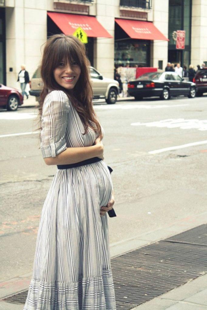 Платье бохо для беременных