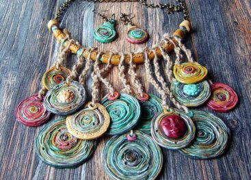 Аксессуары в стиле бохо (handmade)