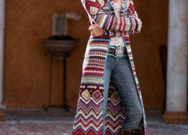Вязание в стиле бохо