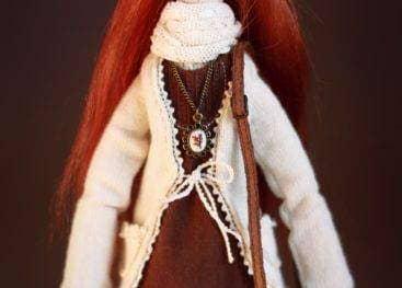 Аксессуары кукол в стиле бохо