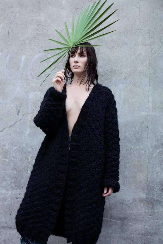 Бохо пальто