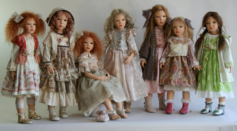 Куклы в бохо стиле