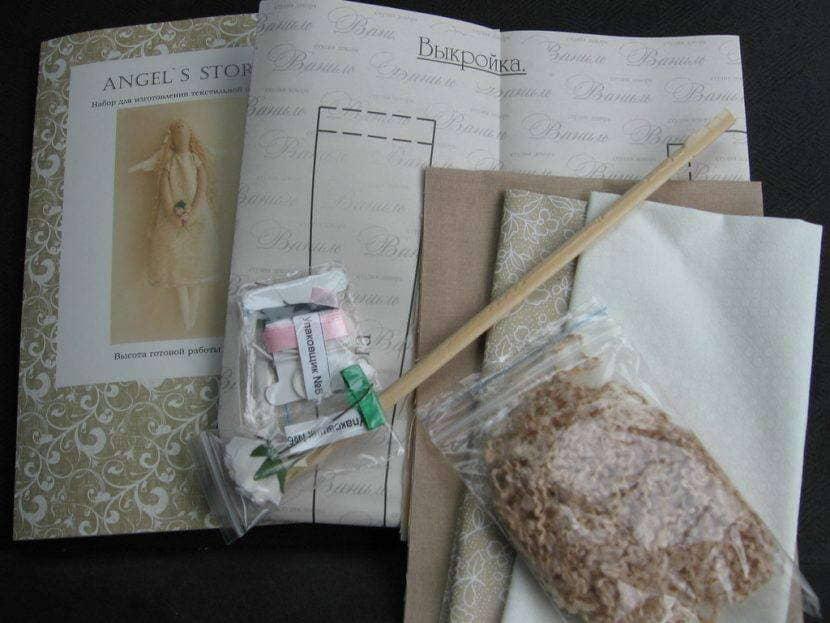 Набор для пошива куклы Тильды в стиле бохо