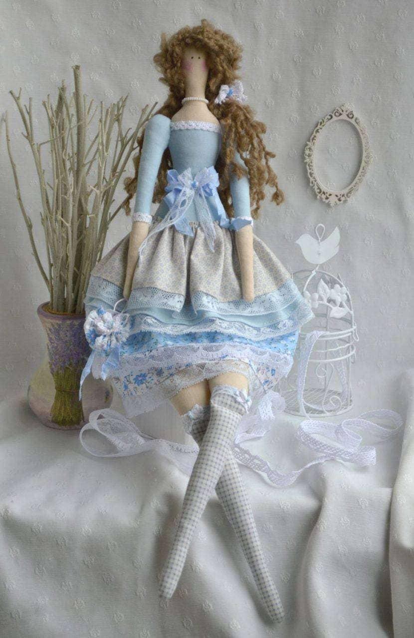 Кукла в бохо стиле
